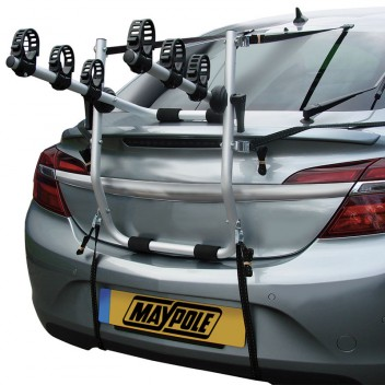 Image for Rear Mount Aluminium 3 Cycle Carrier