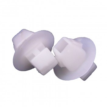 Image for Side Moulding Clip - White (Toyota, Suzuki)