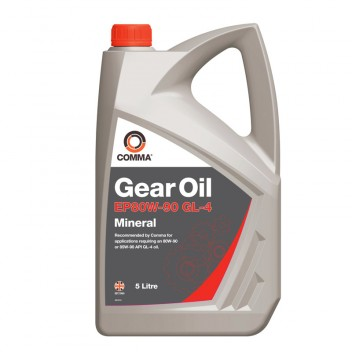 Image for Comma EP80W-90 Gear Oil - 5 Litres