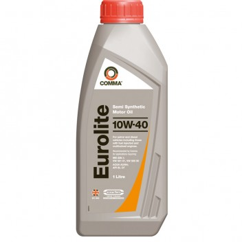 Image for Comma Eurolite 10w-40 Motor Oil - 1 Litre