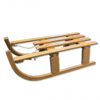 Image for Coyote Foldable Wooden Snow Sledge - 110cm