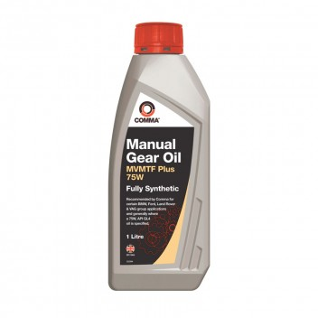 Image for MVMTF PLUS 75W Fully Synthetic Gear Oil 1 Litre