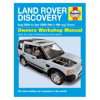 Image for Land Rover Discovery Diesel 04-09