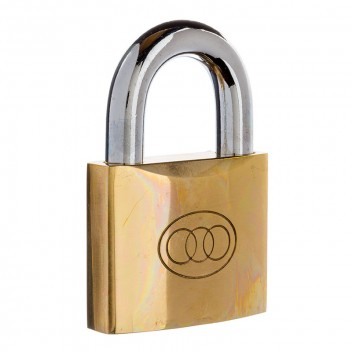 Image for Tri-Circle Brass Padlock 266/63mm