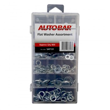Image for Assorted Flat and Spring Washers
