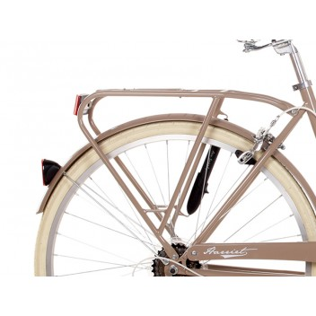 "Image for Ryedale Harriet Bike with Basket 19"" Latte Six Speed"