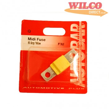 Image for Midi Fuse 60 Amp - Yellow