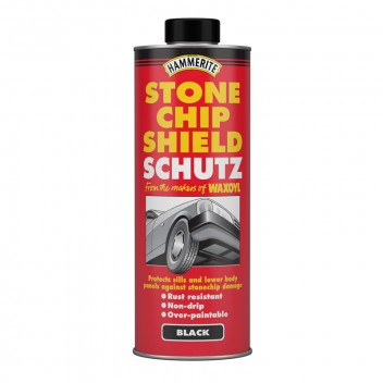 Image for Hammerite Stonechip Shield Schutz - Black - 1 Litre