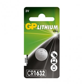 Image for GP Premium Car Key Battery - CR1632 (CA17) - 3V Lithium