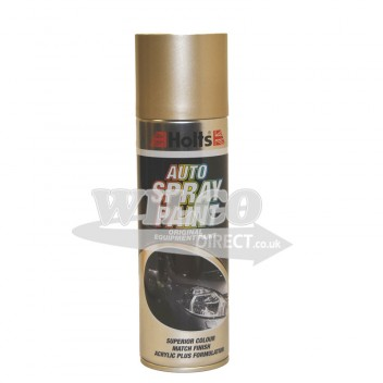 Image for Holts Gold Light Beige Metallic Spray Paint 300ml (HBEM04)