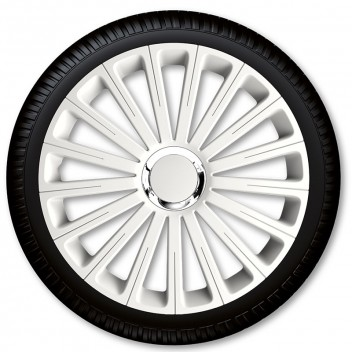 "Image for 14"" Radical Pro White Wheel Trims - Set 4"
