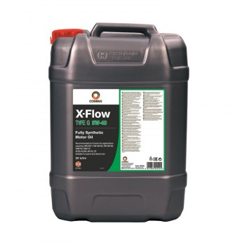 Image for X Flow Type G 5W40 Fully Synthetic Motor Oil - 20 Litres