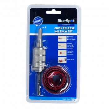 Image for Blue Spot Quick Release Holesaw Pro Series