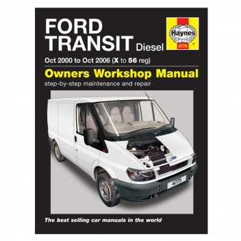 Image for Ford Transit Diesel (Oct 00 - Oct 06) - Haynes Manual