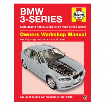 Image for BMW 3 Series Haynes Repair Manual (Sept 2008-Feb 12)
