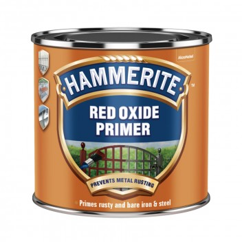 Image for Hammerite Anti-Rust Primer Red Oxide 250ml