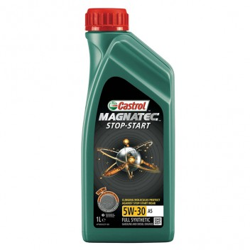Image for Castrol Magnatec Stop-Start 5W-30 A5 Engine Oil 4 Litre