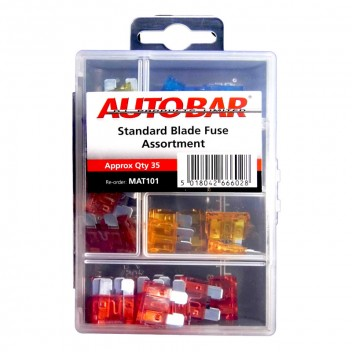 Image for Standard Blade Fuse Assortment - Pack 35