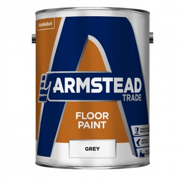 Image for Armstead Grey Floor Paint 5 Litre