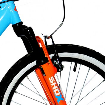 "Image for Concept Outlaw Mountain Bike - Blue, Black and Orange - 10"" Frame"