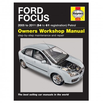 Image for Ford Focus Petrol (05 - 09) - Haynes Manual