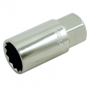 "Image for Laser Spark Plug Socket 1/2""D - 21mm Bi-Hex"