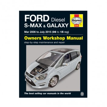 Image for Manual Ford SMAX & Galaxy Diesel 06-15