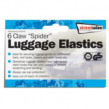 Image for Luggage Elastic - 6 Claw Spider Type