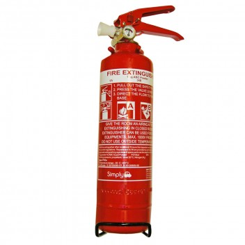 Image for 1Kg Powder Fire Extinguisher with Gauge