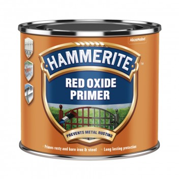 Image for Hammerite Anti-Rust Primer Red Oxide 500ml