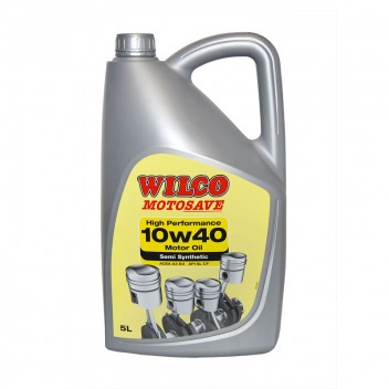 Image for Wilco 10w-40 High Performance Motor Oil - 5 Litres