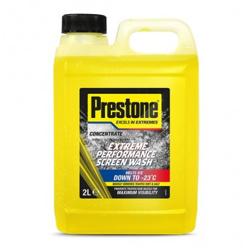 Image for Prestone Extreme De-icer Performance Screenwash - 4 Litres