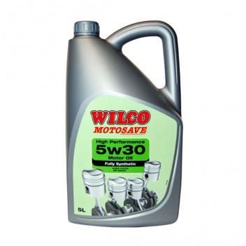 Image for Wilco 5W-30 High Performance Motor Oil - 5 Litres