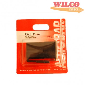 Image for Pal Fuse Clip Type 65 Amp - Black