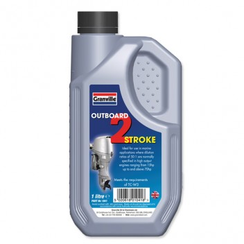 Image for Boat Outboard 2 Stroke Oil - 1 Litre