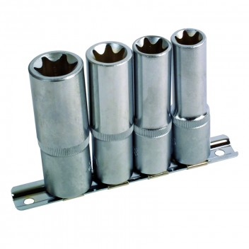 "Image for Star Socket Set Deep 1/2"" Drive - 4 Piece"