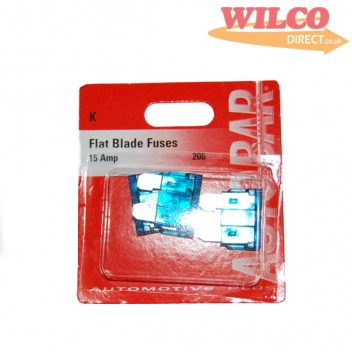 Image for Flat Blade Fuses 15 Amp - Pack 3