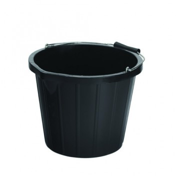 Image for Bucket - Black - 15 Litre Capacity