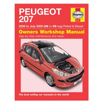 Image for Peugeot 207 Petrol & Diesel (06 - July 09) - Haynes Manual
