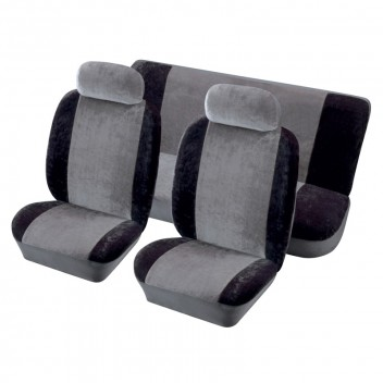 Image for Heritage Full Seat Cover Set - Black