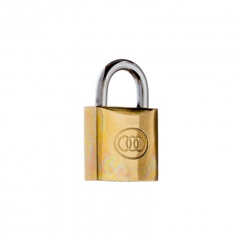 Image for Tri-Circle Brass Padlock 261/20mm