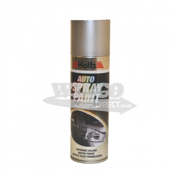 Image for Holts Silver Metallic Spray Paint 300ml (HSILM21)