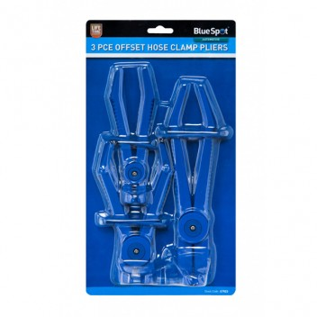 Image for BlueSpot Offset Hose Clamp Pliers - 3 Piece