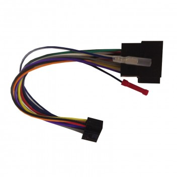 Image for Replacement Harness - JVC 16-Pin to ISO