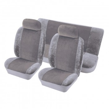Image for Heritage Full Seat Cover Set - Grey