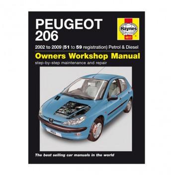 PEUGEOT 206 WORKSHOP MANUAL EBOOK