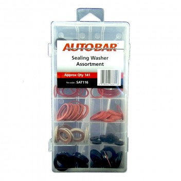 Image for Assorted Sealing Washers - Pack 141