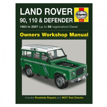 Image for Land Rover Defender - Haynes Manual