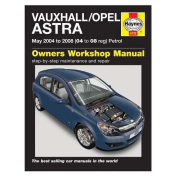 Image for Vauxhall/Opel Astra Petrol 2004 to 2008 Haynes Manual