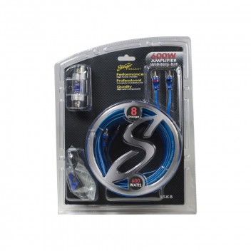Image for Stinger 8GA Complete Wiring Kit - 600w